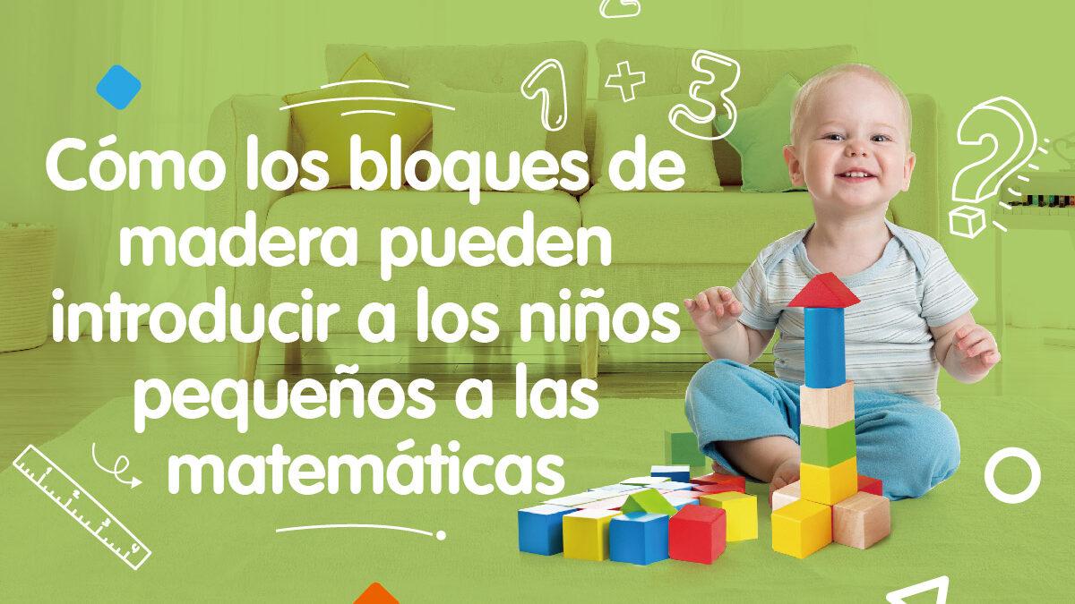 Los bloques de madera son la clave para mejorar las habilidades matemáticas de los niños