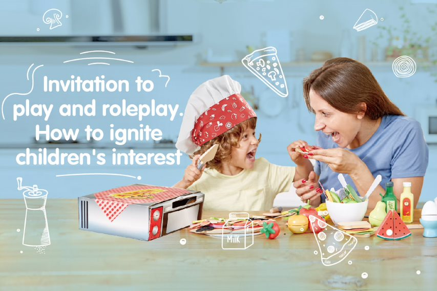 Invitation to Play and Roleplay: How to Ignite Children's Interest?