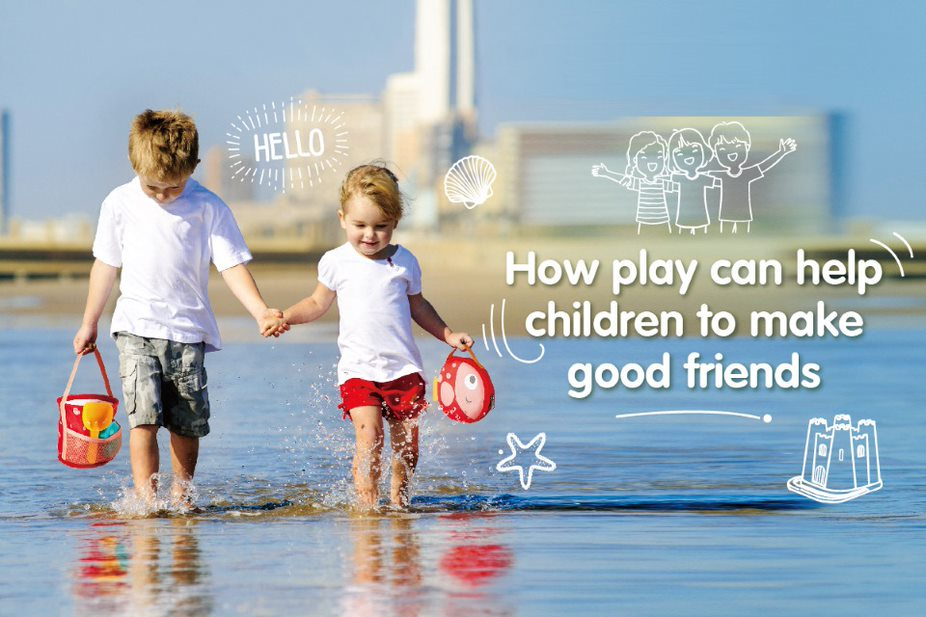 How play can help children make good friends