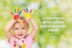 La importancia de los colores para el desarrollo infantil
