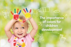 The importance of colors for children development