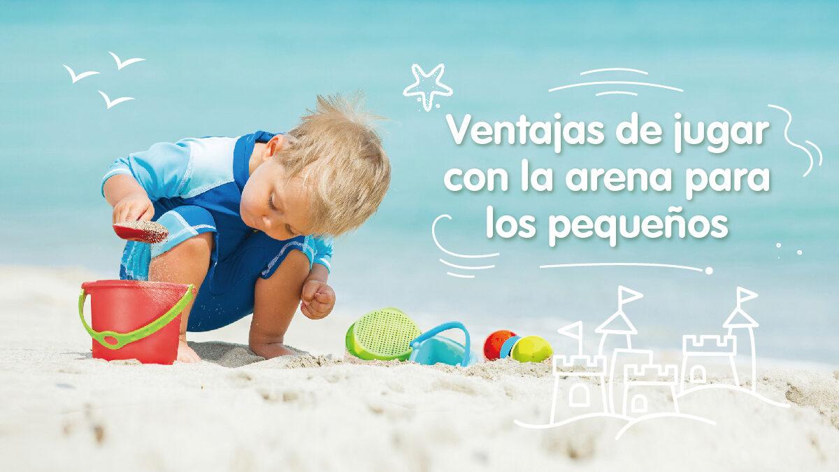 Beneficios para los niños al  jugar con arena.