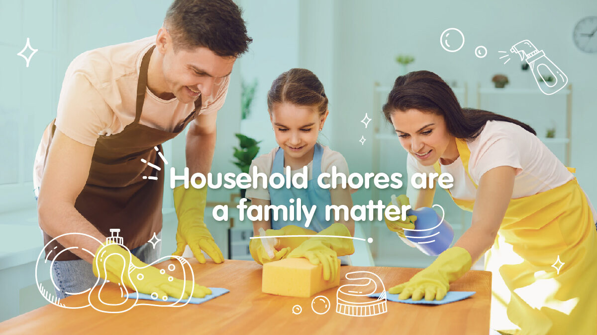 House Chores are a family matter