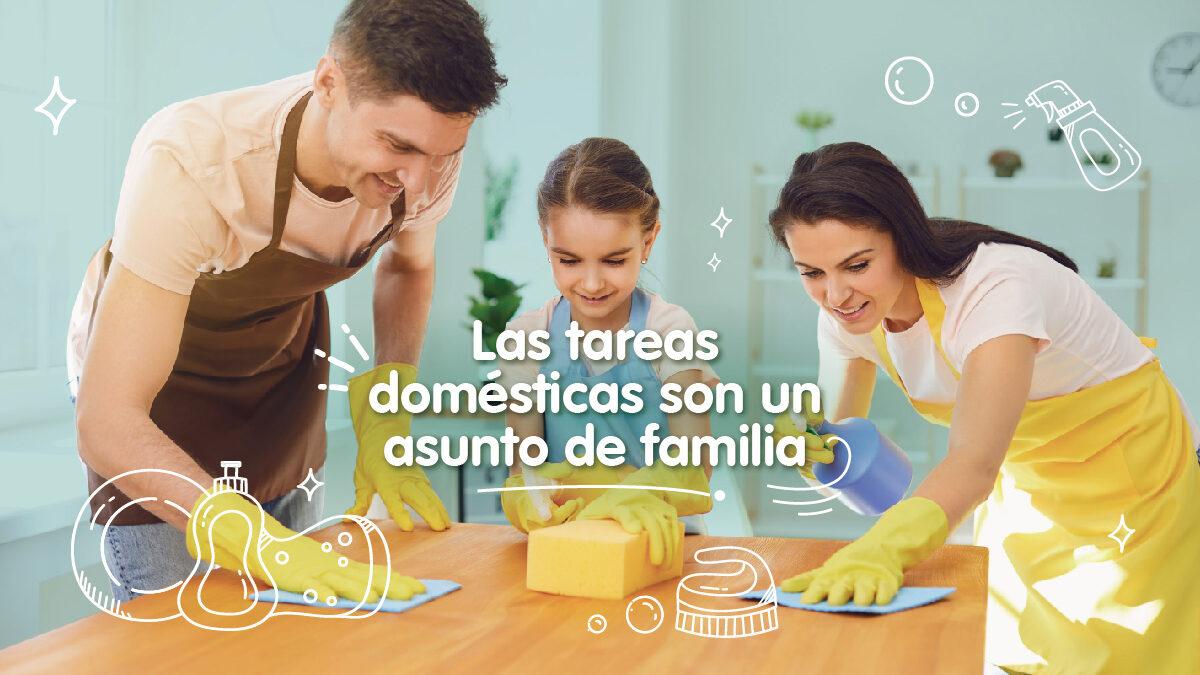Las tareas domésticas son un asunto de familia