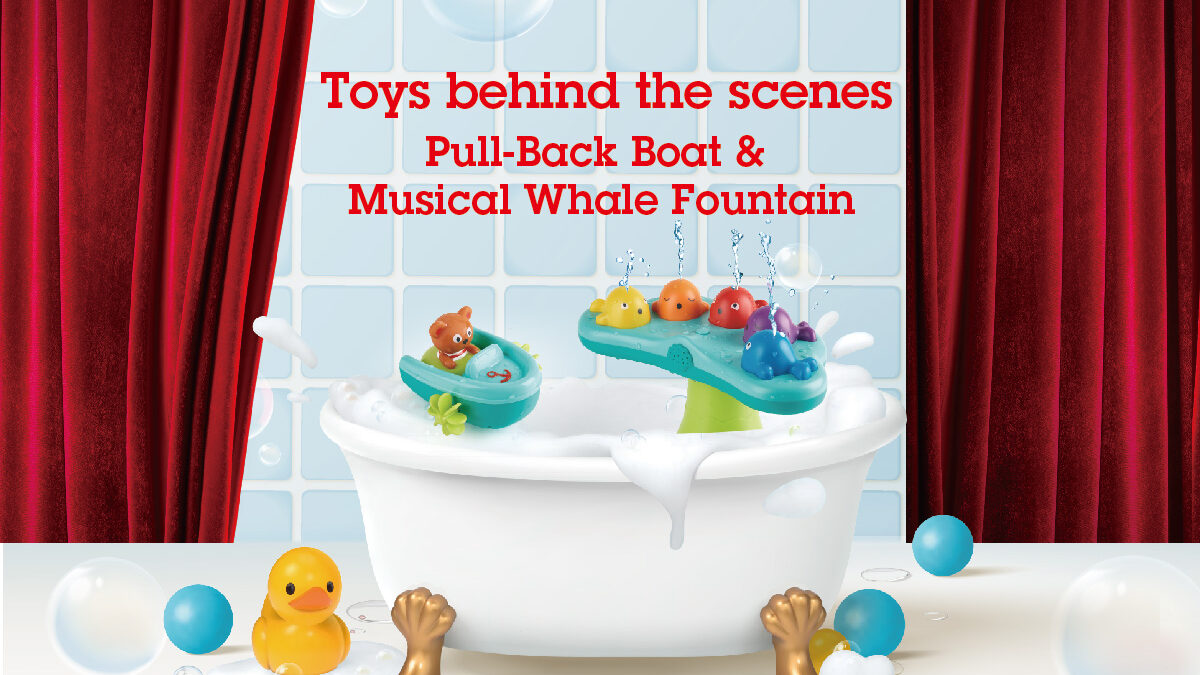 Toys behind the Scenes: Pull-Back Boat & Musical Whale Fountain