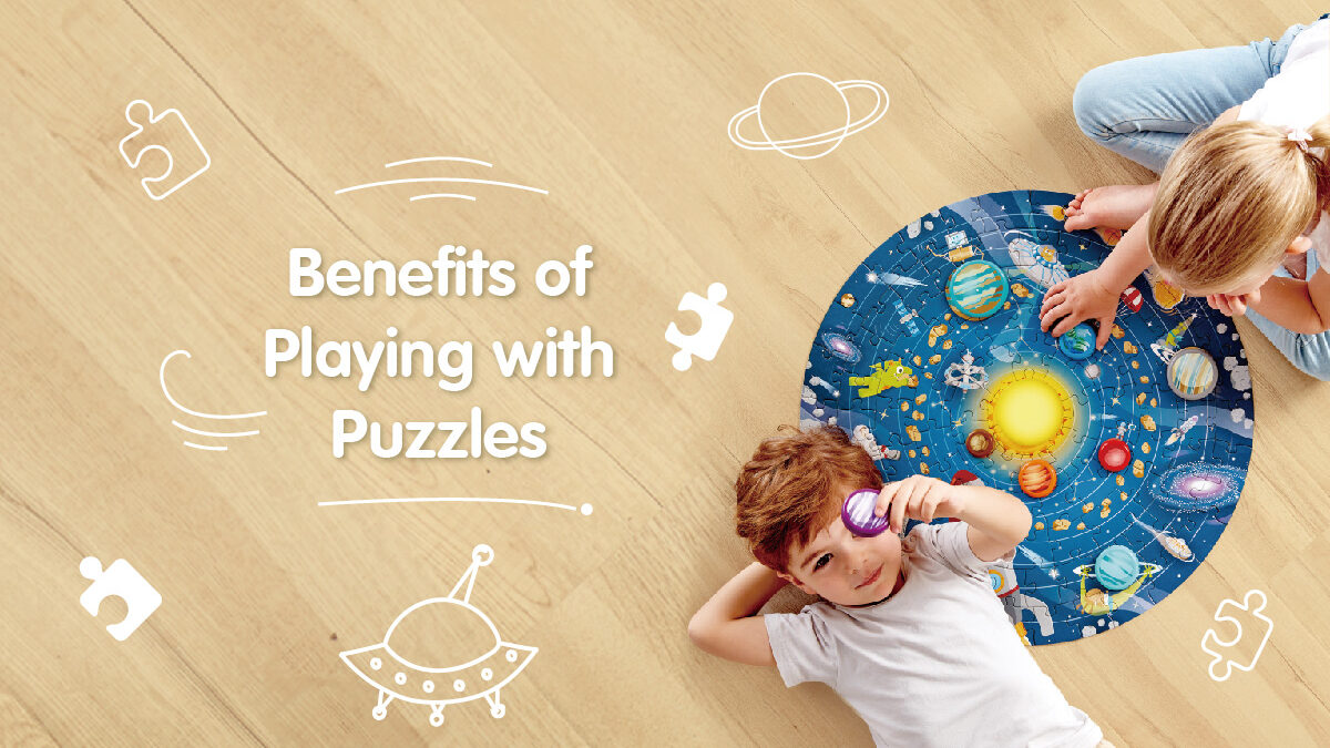 Benefits of playing with puzzles