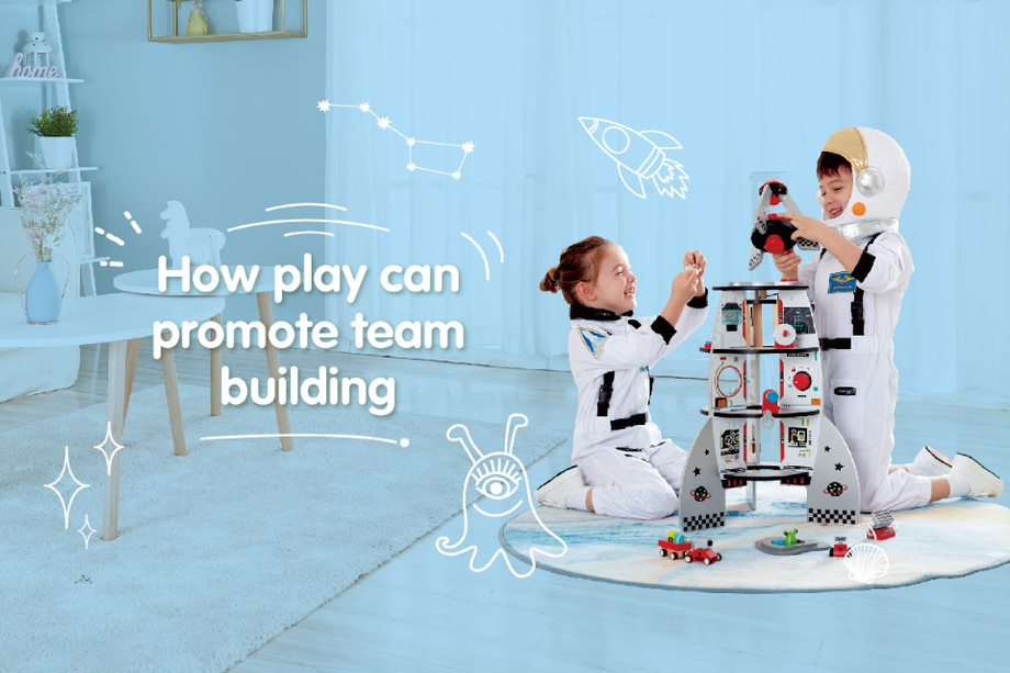 How play can promote team work