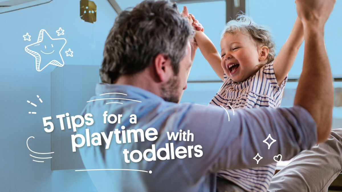 5 Tips for having a great playtime with toddlers