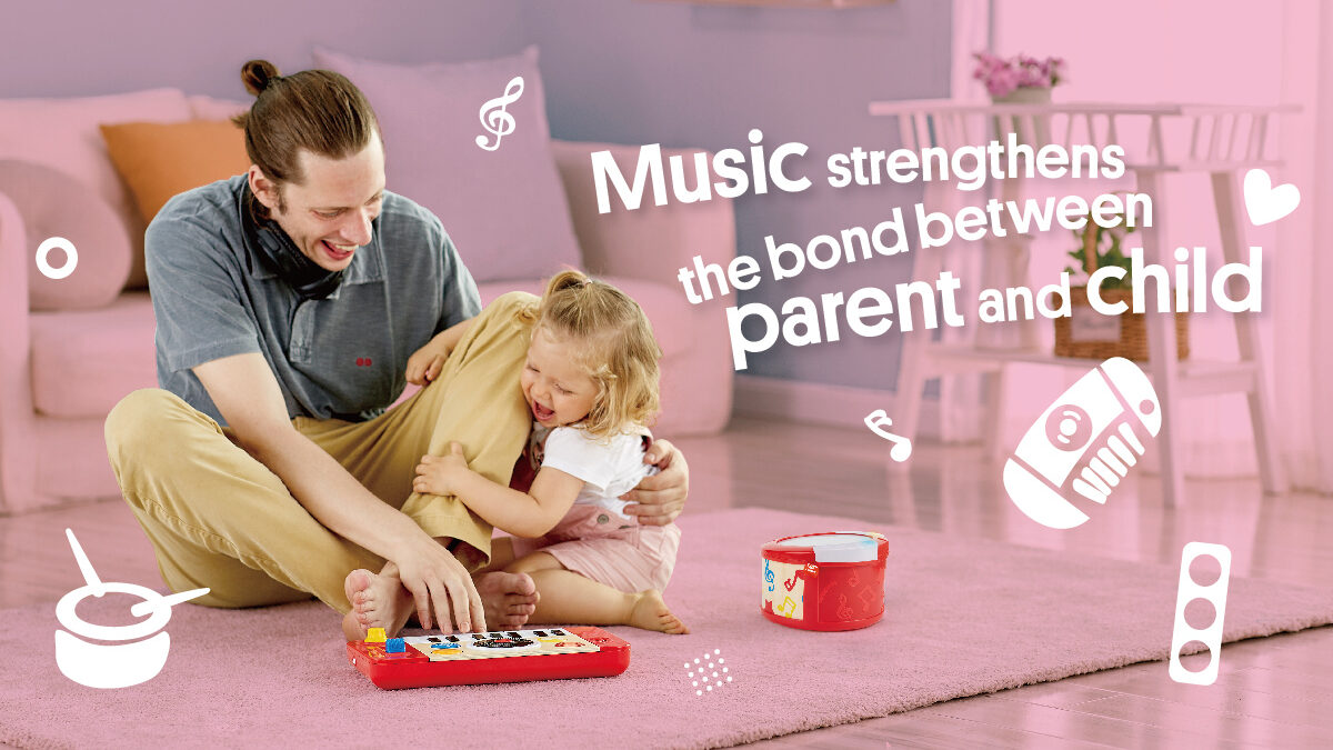 Music strengthens the bond between parent and child
