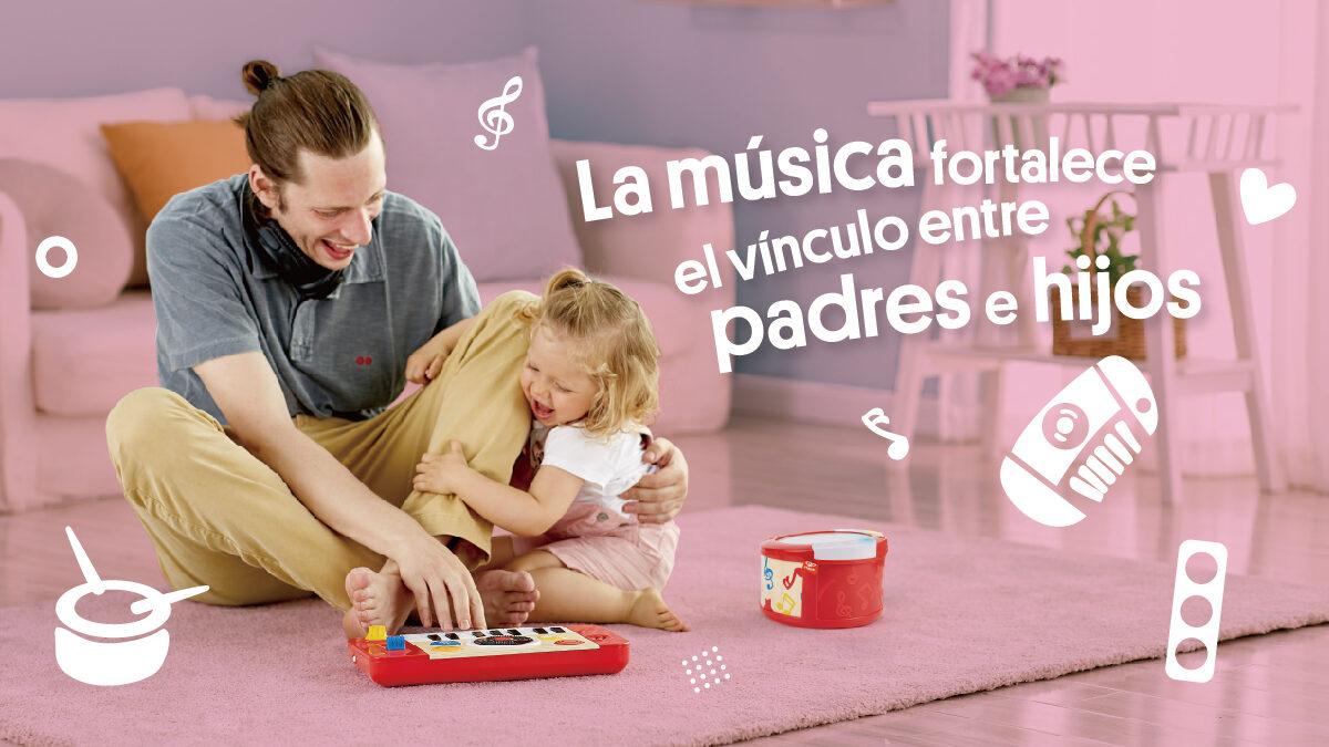 La música fortalece el vínculo entre padres e hijos